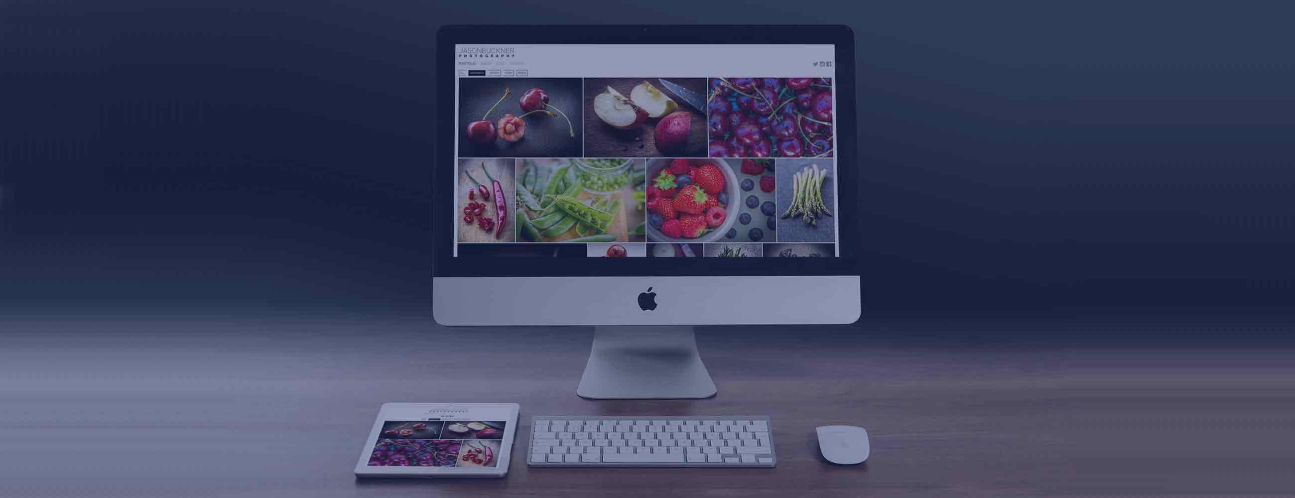 Wordpress portfolio design for Jason Buckner Photography