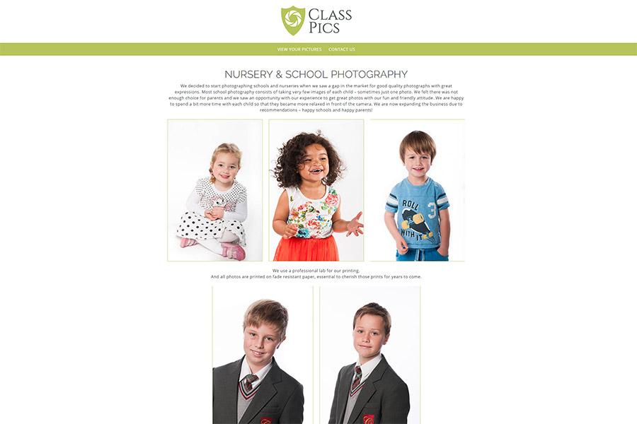 Class Pics Schools Photography Website