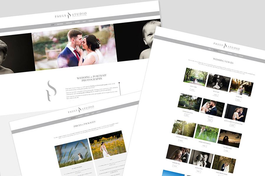 Website for Pauls Studio