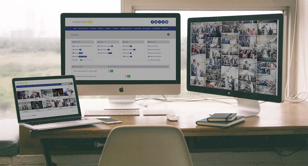 Online-Proofing Image Sales