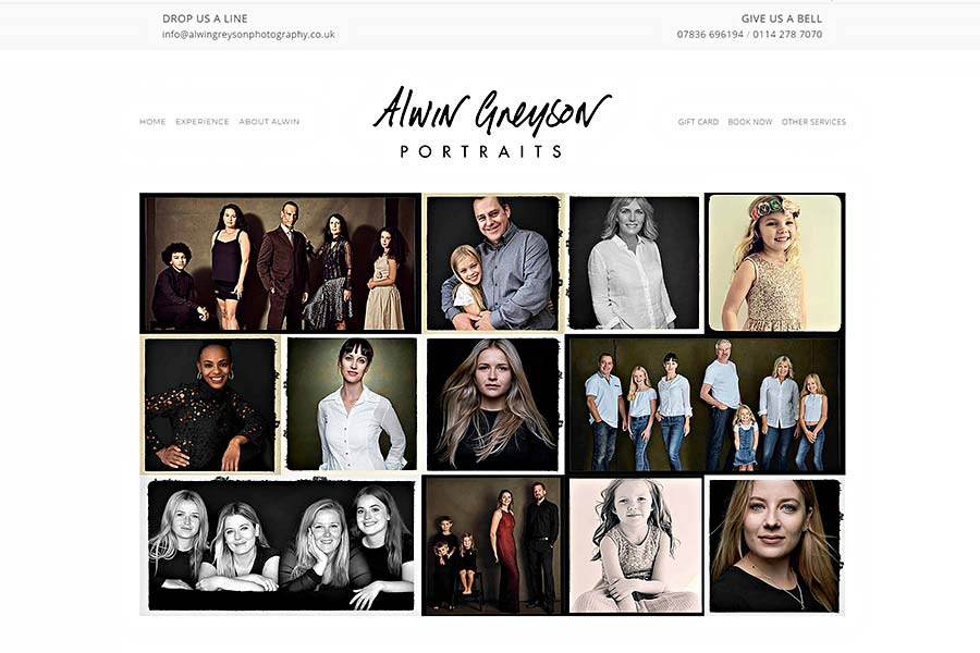 Alwin Greyson Portraits