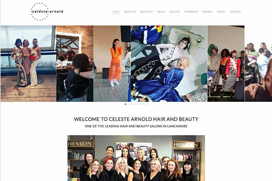 Celeste Arnold Hair and Makeup